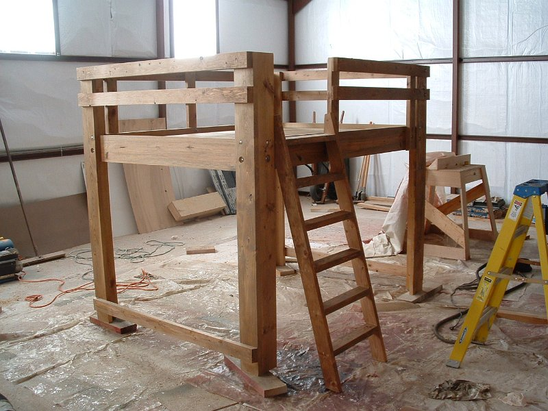 Bunk beds with slide - Tree House Bed This Tree House Bed Was Built For A Boys Room